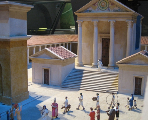 Roman Baths Model for the City of Bath Museum